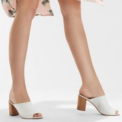 [Aldo] Put on your best clothes and match with the hassle-free Dorthy mule this weekend!
