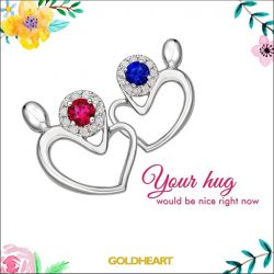 [Goldheart Jewelry Singapore] For Mom, whose comforting embrace first welcomed me to the world.