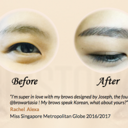 [BROW ART ASIA] What's the one makeup product that you cannot live without?