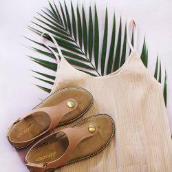 [Aerosoles] Dress down on casual Friday with a pair of comfy, fuss-free sandals.