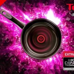 [Tefal] Introducing our new gem in the kitchen, Tefal Dark Ruby Ceramic non-stick cookware, reinforced with mica minerals for extra