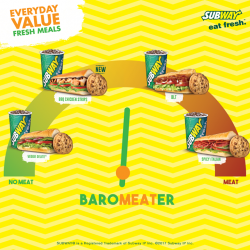 [Subway Singapore] Meat the baroMEATer.