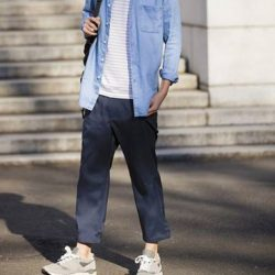 [Uniqlo Singapore] Cropped, slim and quick-drying, these pants can be easily mixed and matched with all sorts of different tops.