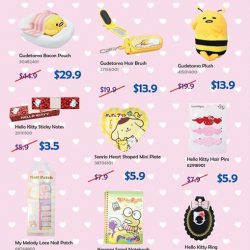 [VivoCity] Enjoy great savings for GSS selected items up to 40% off, exclusively at Sanrio Gift Gate VivoCity!