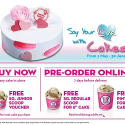 [Baskin Robbins] Let's say out your love with Baskin-Robbins ice cream cake!