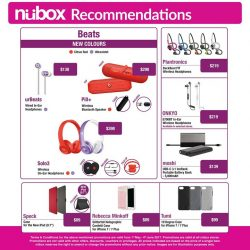 [Nübox] Join us as a nübox member now and enjoy attractive savings with up to 20% off selected premium non-