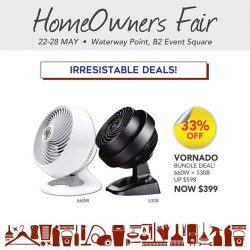 [Home-Fix Singapore] Enjoy year round energy and money saving without sacrificing comfort with Vornado Air Circulator!