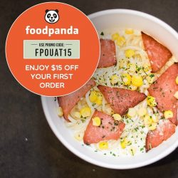 [Once Upon a Thyme] Get $15 off your first foodpanda order with our promo code FPOUAT15 and get our pastas delivered to you!