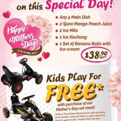 [Old Chang Kee Singapore] Not sure where to go this weekend to celebrate Mother's Day?