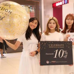 [PAZZION Singapore] Come down to PAZZION VivoCity NOW to enjoy the exclusive promotion and free ice cream!