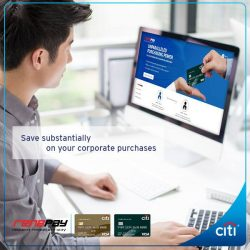[Citibank ATM] From now till 31 July 2017, receive 4 cartons of Coca-Cola beverages* for every S$600 charged to your