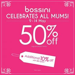 [Bossini Singapore] Show mum some love this mothersday.