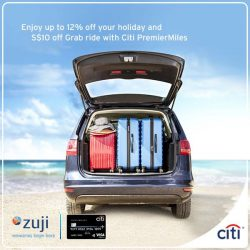 [Citibank ATM] Enjoy attractive discounts when you make your travel bookings on zuji.