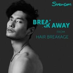 [Svenson] Does your heart breaks a little, each time your strands decide to snap into half?