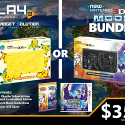[GAME XTREME] New 3DS XL Moon Bundle【PROMO DURATION】 While Stocks Last【DETAILS】 Been hearing about this Pokemon thing for the longest