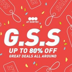[Actually] Massive sale happening this instant at our Suntec City pop up store which we know you guys would not want