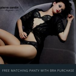 [Pierre Cardin] The Pierre Cardin Exclusive Label is an elegant collection of bras, panties and lounge-wear.