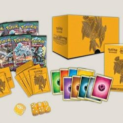 [GAME RESORT] TCG New Arrival,-Pokemkn Mega Power Collection Box, -Pokemon Sun & Moon Guardians Rising Elite Trainer Box.
