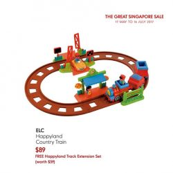 [Mothercare] Set your little one's imagination free with ELC Happyland range!