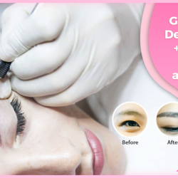 [BROW ART ASIA] A perfect eyebrow shape will make a drastic change to your face.