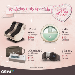 [OSIM] A healthy mum is a happy mum.
