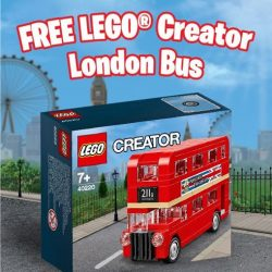 [Bricks World (LEGO Exclusive)] GWP - LEGO® Creator London BusFrom now till the 8th of June, spend S$100 nett in a single receipt