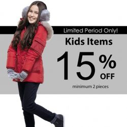 [ColdWear] This June school holidays, get 15% off any two kids items!