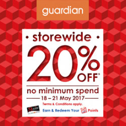 [GUARDIAN HEALTH AND BEAUTY] Guardian's 20% STOREWIDE SALE is back!