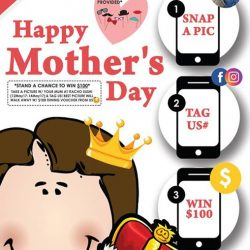 "[HONG KONG WONTON NOODLE] Itacho Sushi x Mother's DayGo ""GaGa"" with your mum on this coming Mother's Day and stand a"