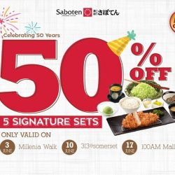 [Saboten] Saboten is turning 50 and we want you to celebrate this milestone with us!
