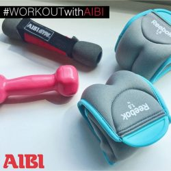 [AIBI] Wrist weights are the perfect fitness accessory to add dimension to your workout and push you to the extra level