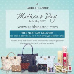 [Precious Thots] FREE NEXT DAY DELIVERY* for Mother's Day at www.