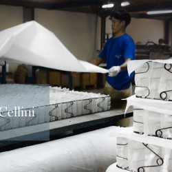 [Cellini] Designed for silent nights, Cellini's Nightingale Silenite mattress range has a foundation of individual pocketed spring.