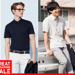 [Uniqlo Singapore] These every day men's tops are timeless classics that can be worn almost anywhere.