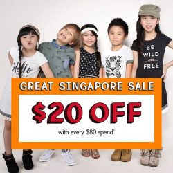 [Fox Fashion Singapore] The Great Singapore Sale is here!