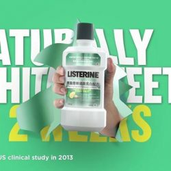 [Guardian] Try LISTERINE NEW Healthy White and get naturally whiter teeth in 2 weeks!