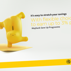 [Maybank ATM] Maybank Save Up Programme just got better.