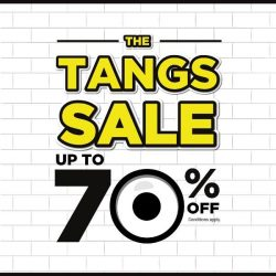 [VivoCity] Up to 70% off at The TANGS Sale!