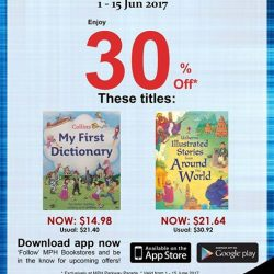 [MPH] Exclusive MPH Offer On Parkway Parade App 30% off featured titles Promotion period 1 -15 June 2017