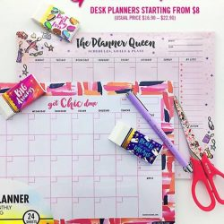 [De Hair-Tique] Plan your way to perfection with desk planners starting at $8 each (usual price $16.