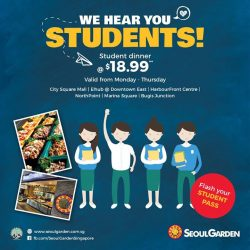 [Seoul Garden Singapore] Calling all students out there!