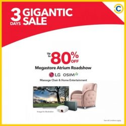[Courts] Dive into a weekend full of GIGANTIC offers at COURTS Megastore, Tampines, Bukit Timah & Ang Mo Kio for discounts of