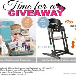 [Jooniper] Mums-to-be, we're partnering with Thomson Medical in their Thomsonbaby Giveaway for its 28-Day Lunch & Dinner Confinement