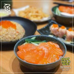 [Sushi Tei] Congratulations to @vivienneeluv for being our May winner of our 'Snap, Tag & Win' Contest!
