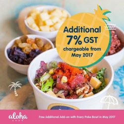 [Aloha Poke] Aloha Poke will like to thank all our customers, because of your continued support, we have now exceeded the revenue
