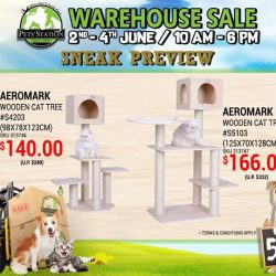 [Pets' Station] Satisfy your cats scratching needs with these AEROMARK Cat Trees!