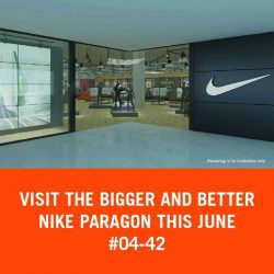 [Nike Singapore] Step into our New Nike concept store in Paragon for an exciting retail experience this June 2017.