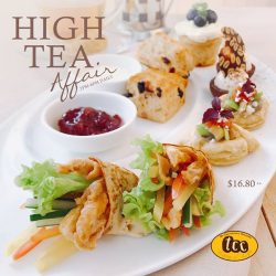 [TCC - The Connoisseur Concerto] Relish in tcc's high tea set that offers a tempting selection of sweet and savoury treats!