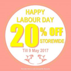 [Sin Chew Optics & Contact Lens Centre] Happy Labour Day!
