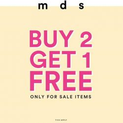 [MDSCollections] Pick any 3 sale items and get the lowest priced item free!